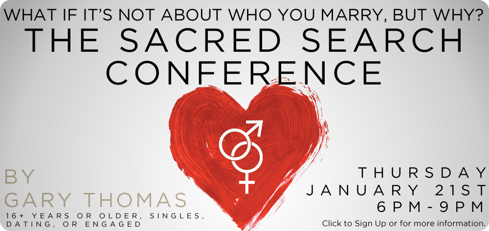 The Sacred Search Conference by Gary Thomas